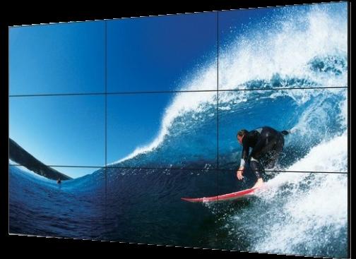 Wizualizacja wielkoformatowa : ściana wizyjna, videowall,