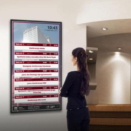 System Informacji o Salach - monitor zbioczy