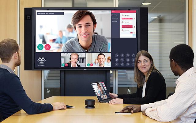 NEC Infinity Board - meeting room