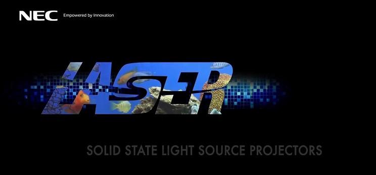 projektory laserowe - zalety NEC