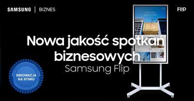Flipchart interaktywny Samsung wm55h Flip