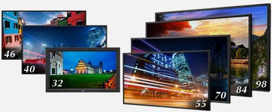Wizualizacja wielkoformatowa : monitory
