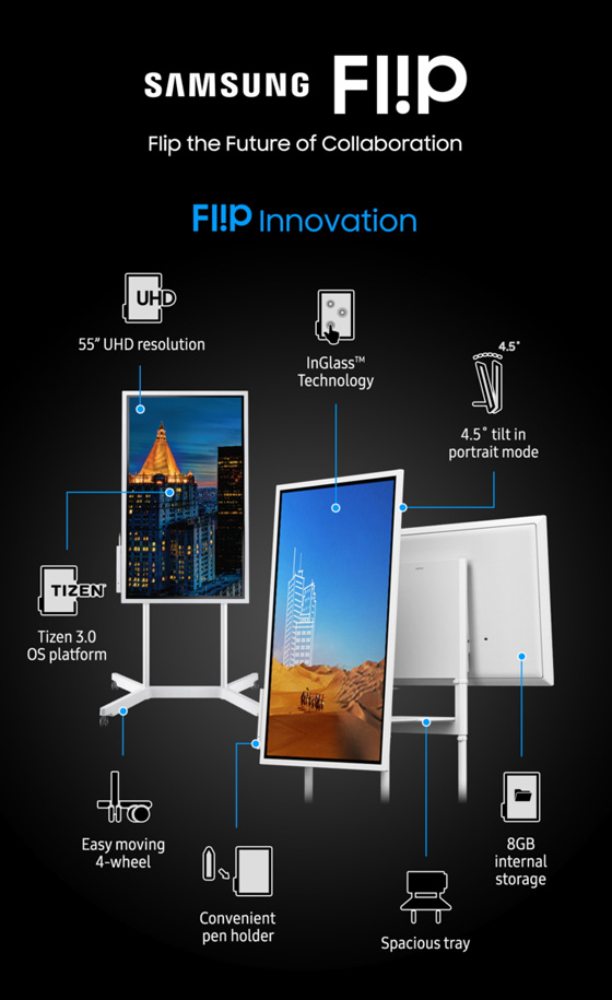 Samsung Flip WM55R